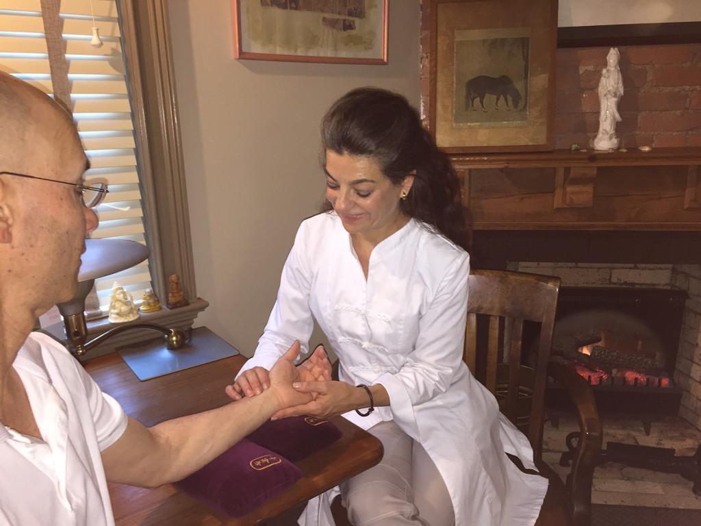 Deborah with Patient